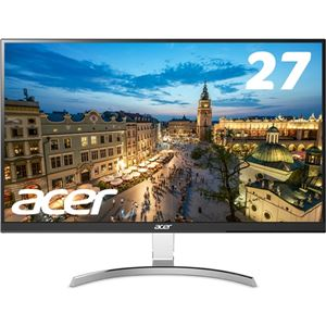 Acer 27型ワイド液晶ディスプレイ RC271Usmidpx(IPS/非光沢/2560x1440/QHD/350cd/4ms/DVI-D(DualLink対応)・HDMI・DisplayPort)