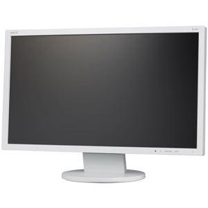 NEC 21.5型ワイド液晶ディスプレイ(白)