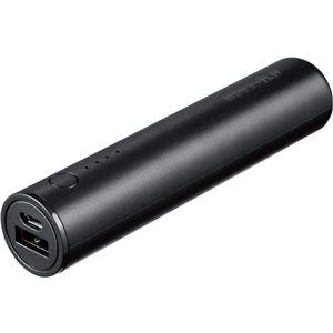 バッファロー(サプライ) スマートフォン用 モバイルバッテリー 2600mAhタイプ 1ポート ブラック