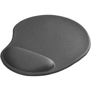 バッファロー(サプライ) リストレスト一体型マウスパッド 低反発タイプ グレー