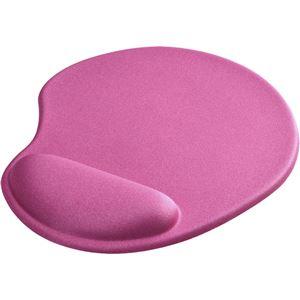バッファロー(サプライ) リストレスト一体型マウスパッド 低反発タイプ ピンク