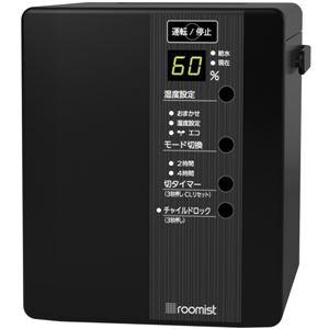 三菱重工空調システム roomist スチームファン蒸発式加湿器 (ブラック)