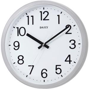 リズム時計 クオーツ式掛け時計 フラットフェイス...の商品画像