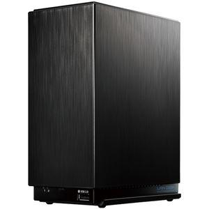 アイ・オー・データ機器 デュアルコアCPU搭載 超高速2ドライブNAS「LAN DISK A」 2TB便利な引っ越し機能付