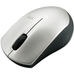 エレコム IRマウス/M-BT12BRシリーズ/Bluetooth3.0/3ボタン/省電力/シルバー