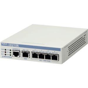 NEC 5年無償保証 VPN対応高速アクセスルータ UNIVERGE IX2106