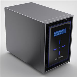 NETGEAR Inc. ReadyNAS 422 [5年保証] 2ベイデスクトップ 8TBモデル