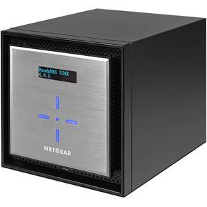 NETGEAR Inc. Eコマース限定モデル ReadyNAS 524X 4ベイデスクトップ型ユニファイド・ネットワークストレージ ディスクレスモデル
