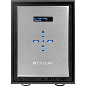 NETGEAR Inc. Eコマース限定モデル ReadyNAS 526X 6ベイデスクトップ型ネットワークストレージ(ディスクレスモデル) 10GBASE-T×2
