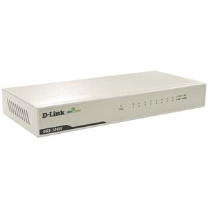 D-Link DGS-1008I/RM 8ポート 10/100/1000BASE-T省電力アンマネージメントスイッチングHUB(電源内蔵/ファンレス/マグネット付/2年保証)