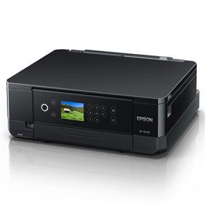 エプソンA4インクジェットプリンター/カラリオ/多機能/6色/無線LAN/Wi-FiDirect/両面/2.7型液晶/ブラック