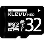 ESSENCORE KLevv microSDHCメモリーカード 32GB Class10 UHS-I U1SDアダプター付
