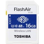 東芝(家電) 無線LAN搭載SDHCメモリーカード「FlashAir」 16GB