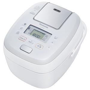 パナソニック(家電) 可変圧力IHジャー炊飯器 1.0L (ホワイト)