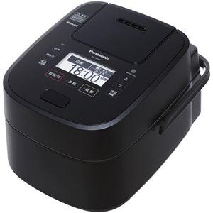 パナソニック(家電) スチーム&可変圧力IHジャー炊飯器 1.0L (ブラック)