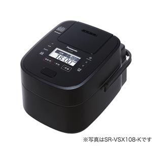 パナソニック(家電) スチーム&可変圧力IHジャー炊飯器 1.8L (ブラック)
