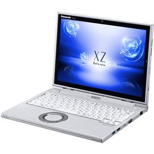 パナソニックLet'snoteXZ6店頭(Corei5-7200U/SSD128GB/W10Home64/12.0QHD/シルバー/OFHB2016)