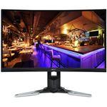 Acer 27インチゲーミング液晶モニター XZ271Ubmijpphzx(VA/非光沢/2560x1440/WQHD/250cd/1ms/144Hz/HDMI・DisplayPort・miniDisplayPort/Free-Sync/HDR)