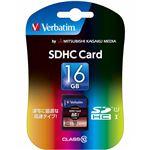 三菱ケミカルメディア SDHC Card 16GB Class 10