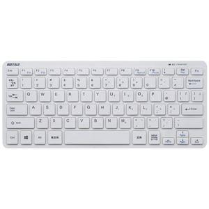 バッファロー(サプライ) Bluetooth 3.0対応 コンパクトキーボード ホワイト