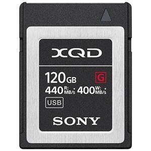 XQDメモリーカード Gシリーズ 120GB