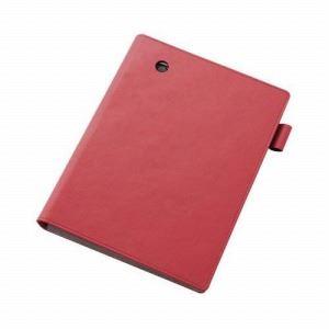 [ELECOM(エレコム)] クロスパッドiPad mini用ノートパッドタイプケース TB-A12STNRD - 拡大画像