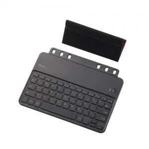 [ELECOM(エレコム)] クロスパッドiPad mini用ワイヤレスキーボード TK-FBP060IBK - 拡大画像