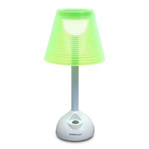ソーラー+USB LEDライト グリーンの商品画像