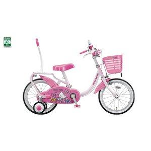 幼児用自転車 ハローキティDX 16インチ ピンク - 拡大画像