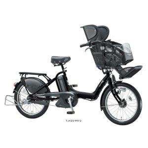 ブリヂストン 電動子供乗せ自転車 アンジェリーノプティットe A20L83 ブラック - 拡大画像