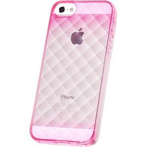 iPhone5/5S用TPUソフトケース 染 ダイヤモンドカット - 拡大画像