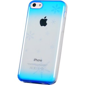 iPhone5c用TPUソフトケース 染ART - 拡大画像