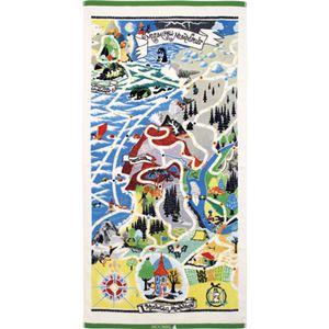 ムーミン おとぎの島 バスタオル - 拡大画像