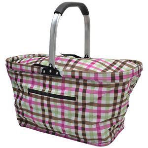 ピクニック保冷バッグ 30L ピン・チェック - 拡大画像