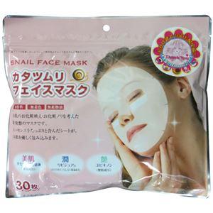 カタツムリ フェイスマスク 30枚 - 拡大画像