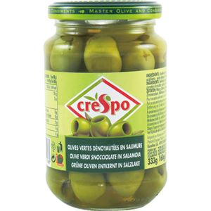 (まとめ買い)クレスポ グリーンオリーブ 種抜き 160g×10セット