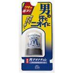 (まとめ買い)デオナチュレ 男クリスタルストーン 60g×4セット