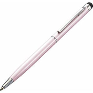 エレコム スマートフォン用ボールペン付タッチペン ピンク P-TPLP01PN - 拡大画像