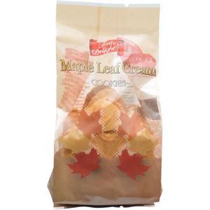 (まとめ買い)テイストデライト メイプルリーフクリームクッキー 3個×19セット - 拡大画像