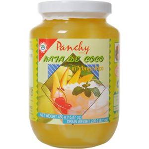 (まとめ買い)パンチー ナタデココ マンゴー果汁漬け 450g×8セット