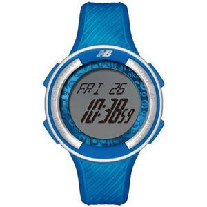 ニューバランス 腕時計 ランニングウォッチ ST-507-006 ブルー - 拡大画像
