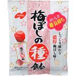 (まとめ買い)【ケース販売】ノーベル 梅干しの種飴 30g×6袋×7セット