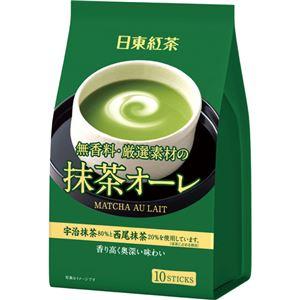 (まとめ買い)日東紅茶 抹茶オーレ 10袋(12g×10袋)×14セット