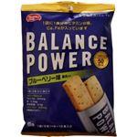 (まとめ買い)バランスパワー ブルーベリー味(果肉入り) 6袋(12本)×12セット