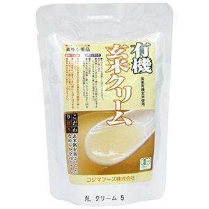 (まとめ買い)コジマフーズ 玄米クリーム 200g×15セット - 拡大画像