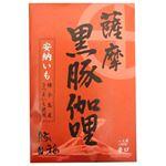 (まとめ買い)豚福 薩摩黒豚伽哩 辛口 200g×12セット