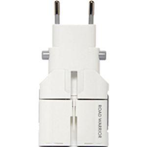 (まとめ買い)デバイスネット マルチ電源変換プラグ ゴーコン 専用ケース付 RW75WH/S ホワイト×3セット - 拡大画像