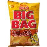 (まとめ買い)カルビー ポテトチップス ビッグバッグ 九州しょうゆ 165g×16セット