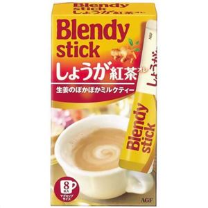 (まとめ買い)ブレンディ スティック しょうが紅茶オレ 10g×8本×23セット