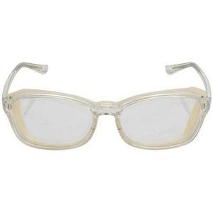 (まとめ買い)エレコム ブルーライト対策メガネ PC GLASSES 花粉対策機能付き ウェリントンタイプ クリア OG-HBLC01CR×7セット - 拡大画像